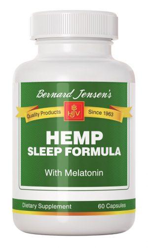 Hemp Sleep Formula with Melatonin